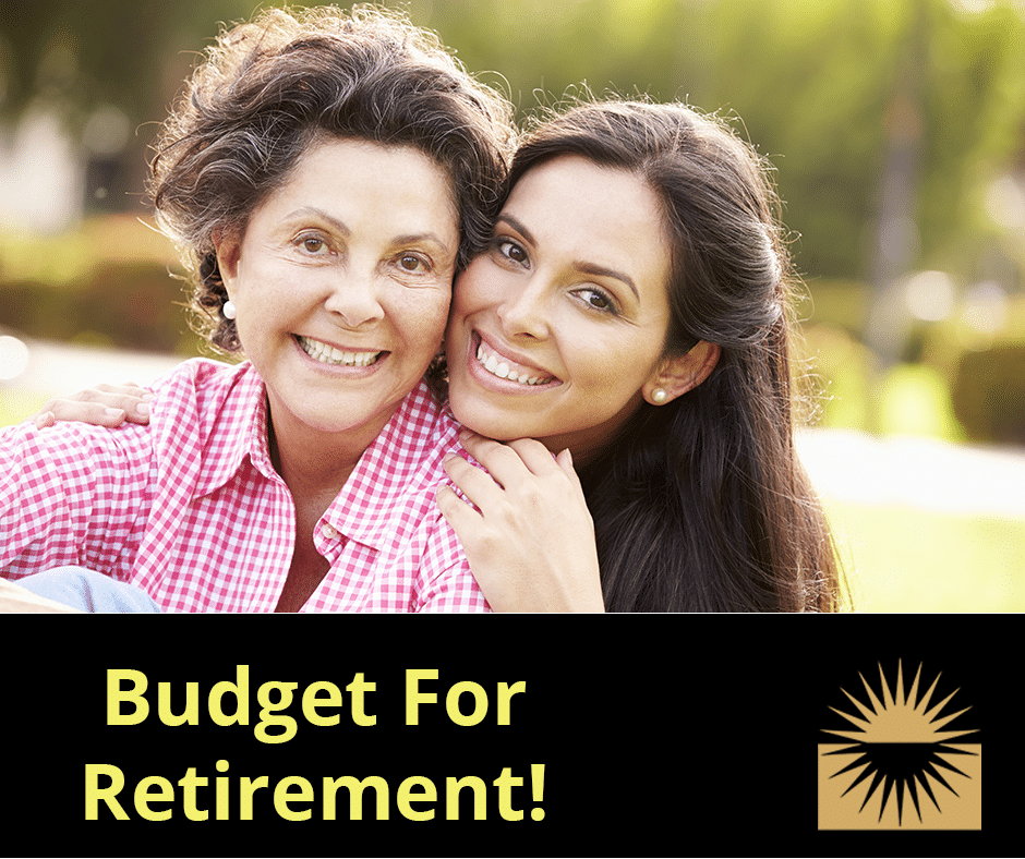 How do I budget for retirement